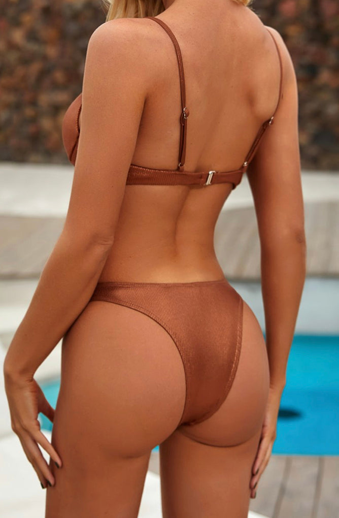 Sexy Girl- Swimsuit Brown