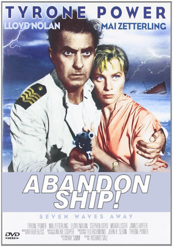 Abandon Ship! DVD 1957 Tyrone Power Mai Zetterling Stephen Boyd Seven Waves Away Re-mastered