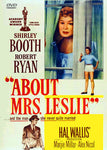 About Mrs. Leslie DVD 1954 Shirley Booth Robert Ryan Marjie Millar Region One