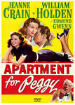 An Apartment for Peggy 1948 Jeanne Crain William Holden Edmund Gwenn DVD Playable in North America