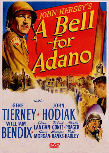 A Bell for Adano DVD 1945 John Hodiak Gene Tierney William Bendix Richard Conte