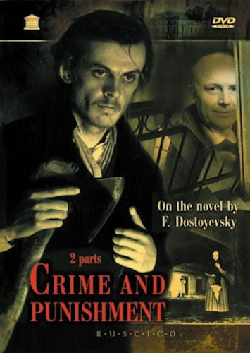 Crime and Punishment Russian1970 2 Disc DVD set English subtitles