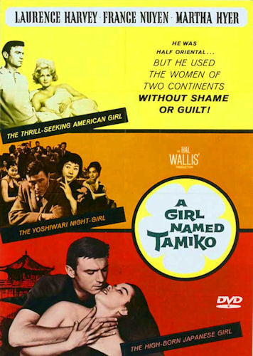 A Girl Named Tamiko 1962 DVD Laurence Harvey France Nuyen Martha Hyer