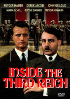 Inside the Third Reich 1982 2-Disc DVD set Rutger Hauer Derek Jacobi John Gielgud Unedited version
