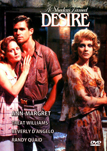 A Streetcar Named Desire DVD 1984 Ann-Margret Treat Williams Beverly D'Angelo Tennessee Williams
