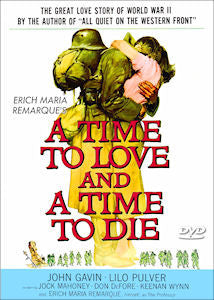 A Time To Love and A Time To Die 1958 DVD John Gavin Lilo Palmer Widescreen Erich Maria Remarque