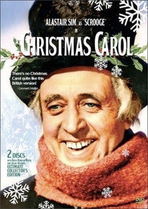 A Christmas Carol The Ultimate Collector's Edition 1951 B&W and Color 2-Disc set Alastair Sim