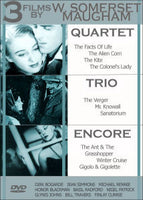 3 Films by W. Somerset Maugham (Quartet, Trio, Encore) - 3 disc set!