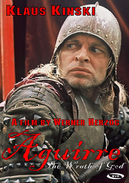 Aguirre The Wrath of God 1972 DVD Klaus Kinski Werner Herzog Region 1 German with English subtitles