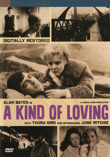 A Kind of Loving 1962 DVD Alan Bates June Ritchie John Schlesinger Playable in the US