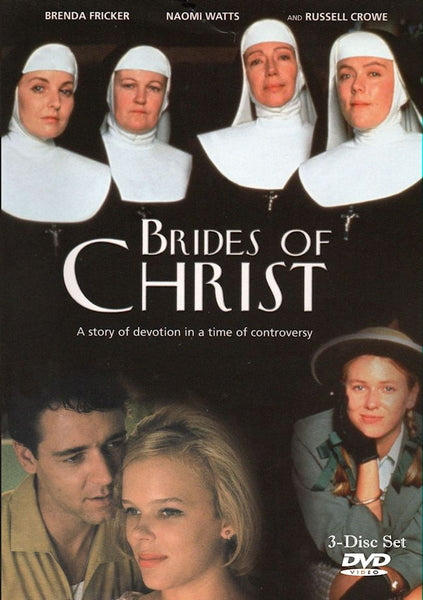 Brides of Christ 1991 6-part Australian Mini-series 3-disc set  Brenda Fricker Russell Crowe Naomi