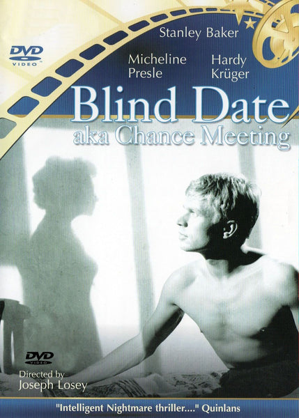 Blind Date Chance Meeting 1959 DVD Hardy Kruger Stanley Baker Joseph Losey Playable in US