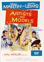 Artists and Models 1955 DVD Dean Martin Jerry Lewis Shirley MacLaine Dorothy Malone remastered