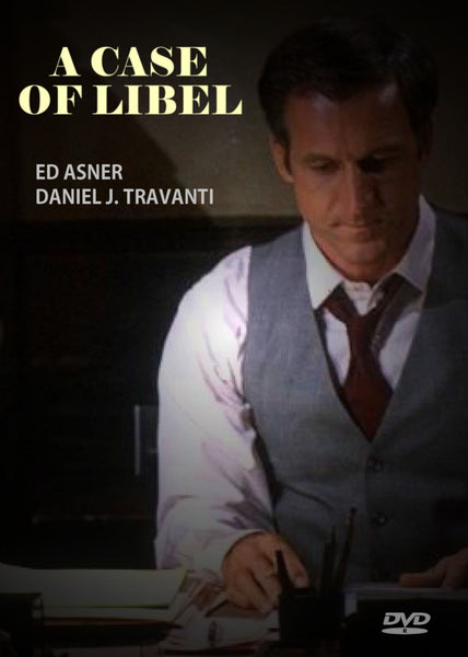 A Case of Libel 1983 DVD Ed Asner Daniel J. Travanti Timely, moving fact-based courtroom drama