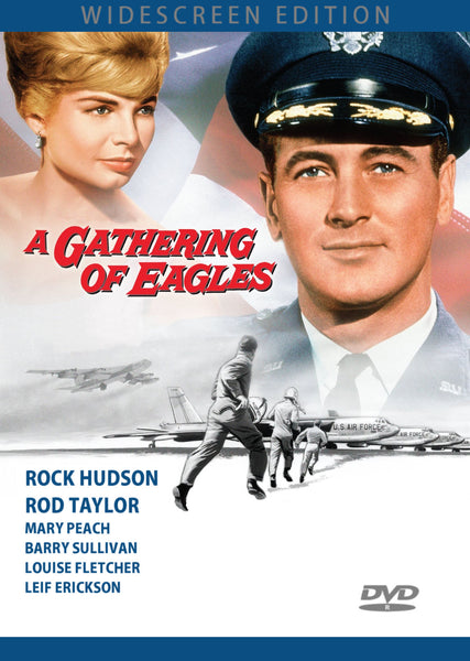A Gathering of Eagles DVD Rock Hudson Rod Taylor 1963 Widescreen Barry Sullivan Henry Silva