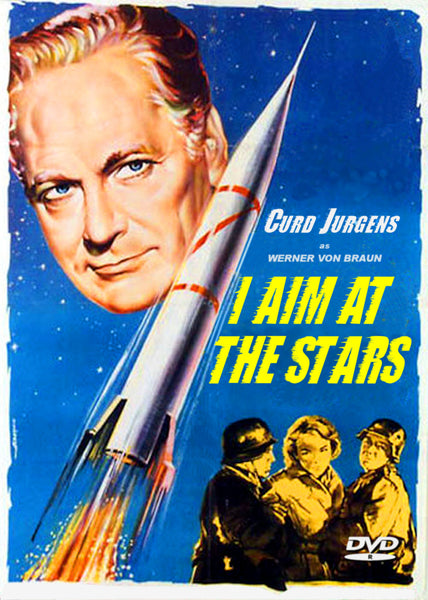 I Aim at the stars 1960 DVD Kurt Curd Jurgens Werner von Braun