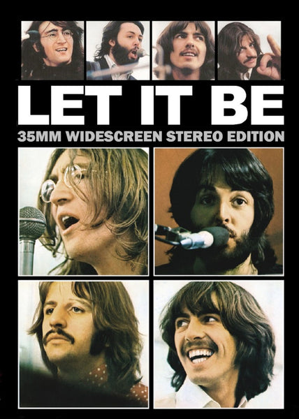 Let It Be The Beatles 1970 DVD Stereo John Paul George Ringo
