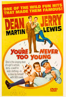 You're Never Too Young 1955 Jerry Lewis Dean Martin DVD Digitally Remastered Raymond Burr