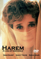 Harem 1986 DVD Omar Sharif Nancy Travis Sarah Miles 2-disc set Julian Sands Art Malik Ava Gardner
