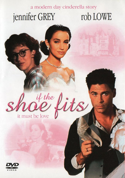 If the Shoe Fits 1990 Rob Lowe Jennifer Grey Stroke of Midnight DVD