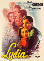 Lydia 1941 Merle Oberon Joseph Cotten Alan Marshal Korda George Reeves DVD Beautiful re-mastered