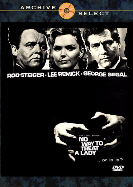 No Way to Treat a Lady 1968 DVD  George Segal Lee Remick Rod Steiger Widescreen Eileen Heckart