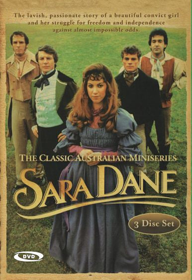 Sara Dane (1982 Mini-series) Deluxe 3-Disc set!