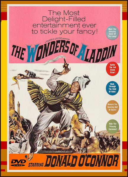 The Wonders of Aladdin 1961 DVD Donald O'Connor Directed by Mario Bava