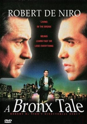 A Bronx Tale DVD 1993 Robert DeNiro, Chazz Palminteri Widescreen Beautiful print!