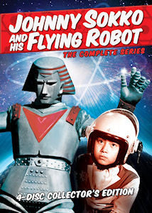 Johnny Sokko and His Flying Robot - Complete series!