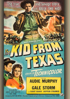 The Kid From Texas - Audie Murphy DVD - 1950
