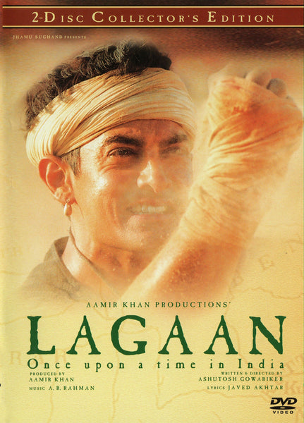 Lagaan – Once Upon a Time in India (DVD) 2001 Deluxe 2-Disc set!