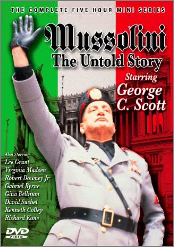 Mussolini: The Untold Story  (Mini-series) 2-Disc Set!