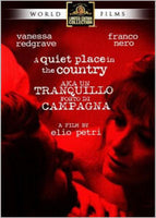 A Quiet Place In The Country Un Tranquillo Posto Di Campagna DVD 1968 Franco Nero Vanessa Redgrave