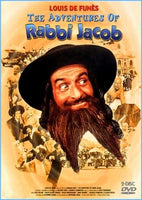 The Mad Adventures of Rabbi Jacob (Dubbed & Subtitled) - 2-Disc Set!