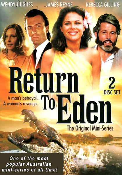 Return To Eden (1983 Mini-Series) 2 disc set!