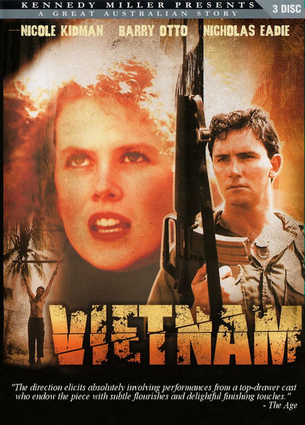 Vietnam (1987 Complete mini-series) Deluxe 3-Disc set!