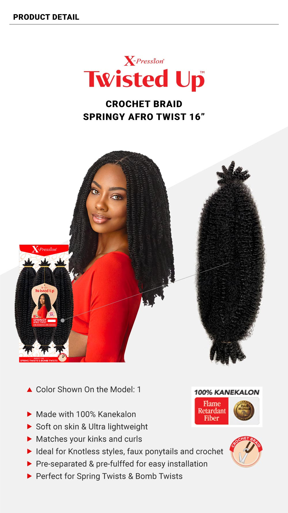 X-PRESSION-TWISTED-UP-SPRINGY-AFRO-TWIST-16INCH