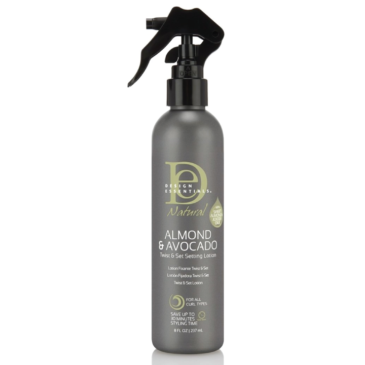 Design Essentials® Natural Almond & Avocado Twist & Set Setting Lotion