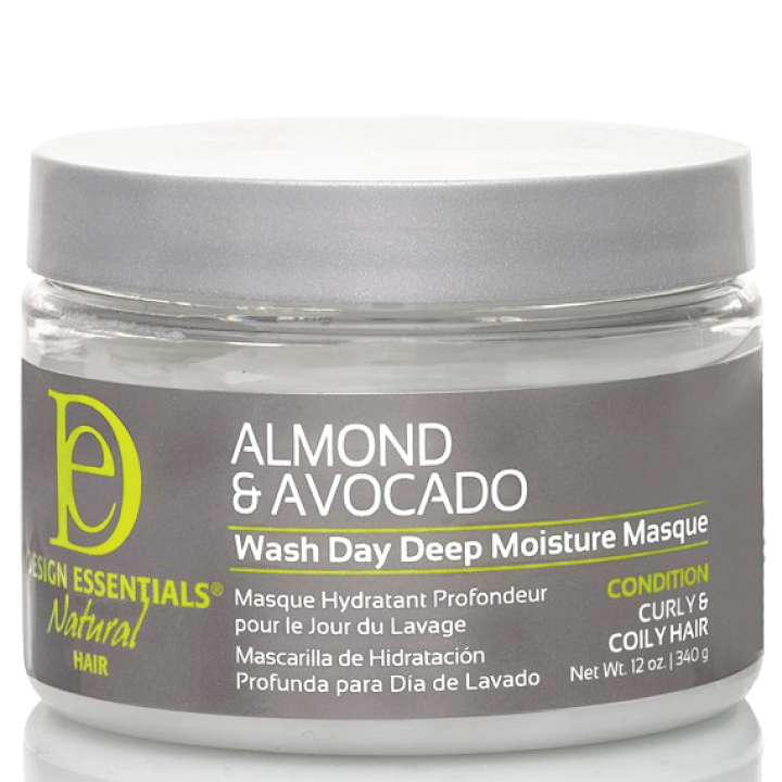 Design Essentials Natural Almond & Avocado Wash Day Deep Moisture Masque 12oz