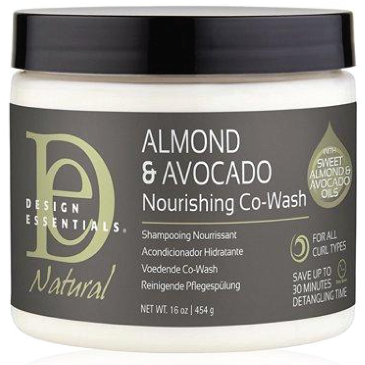 Design Essentials Natural Almond & Avocado Nourishing Co-Wash, 16oz
