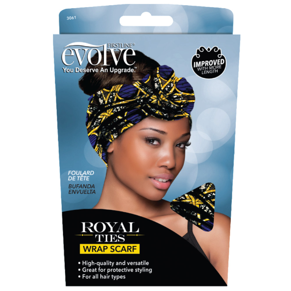 evolve Royal Ties Wrap Scarf #3061