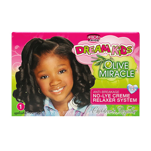 African Pride Dream Kids Olive Miracle No-Lye Relaxer