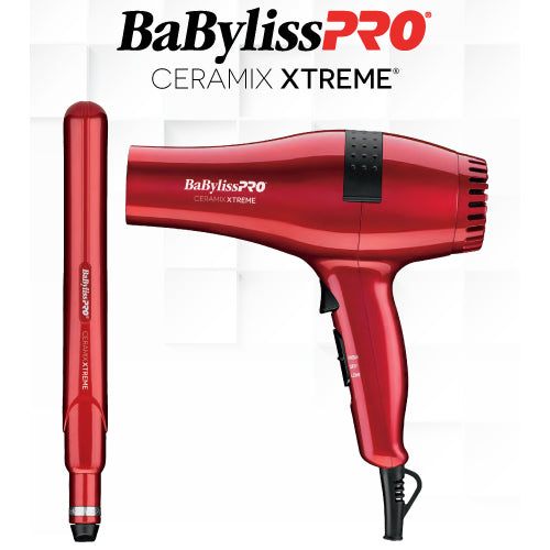 "Babyliss Ceramix Xtreme Value Pack Dryer + 1"" Straightener"
