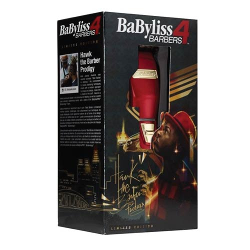 Babyliss PRO Limited Edition Hawk The Barber RED FX Cordless Clipper