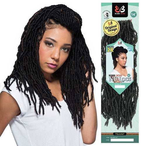 Bobbi Boss Crochet Braid Nu Locs 14 Inch