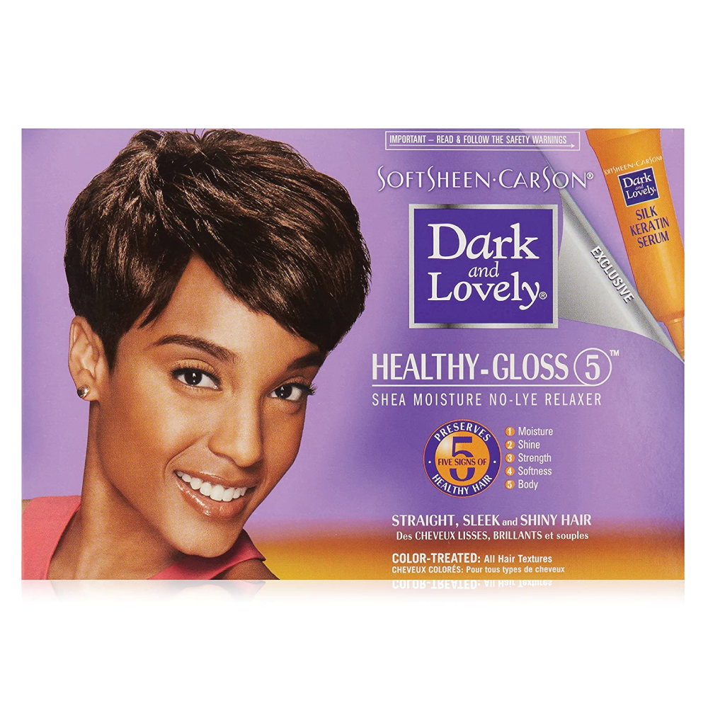 Dark & Lovely No-Lye Relaxer Color Treated