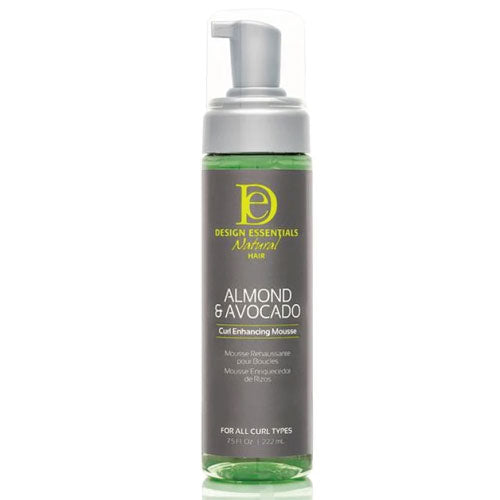 Design Essentials Natural Almond & Avocado Curl Enhancing Mousse, 7.5oz bottle