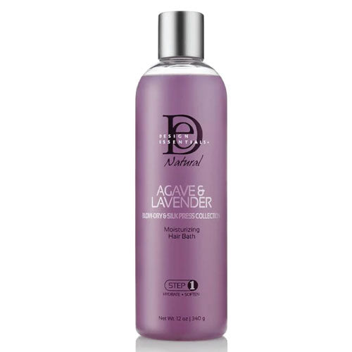 Design Essentials Agave & Lavender Moisturizing Hair Bath Step1 12oz