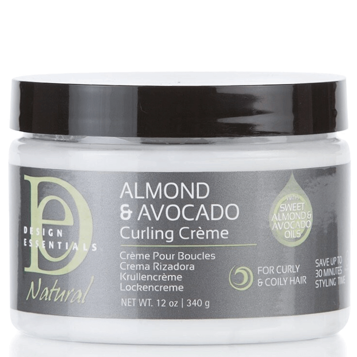 Design Essentials Natural Almond & Avocado Curling Creme, 12oz tub